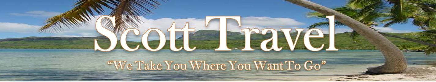 Scott Travel - We Take You Where You Want To Go